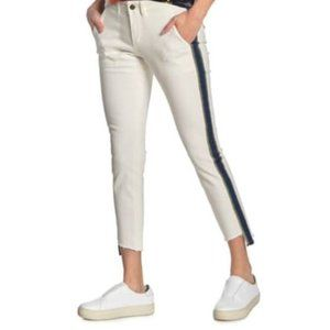 Pam & Gela Uniform Side Stripe Step Hem Pants 25